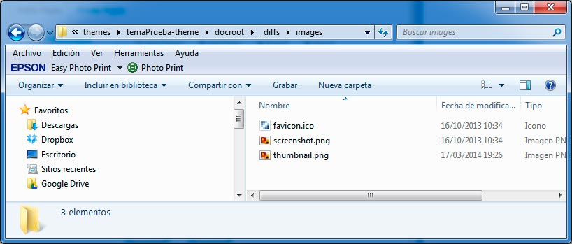 Modificar thumbnail y favicon de un tema de Liferay