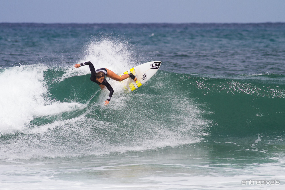 Lucía Martiño, Surfista Asturiana